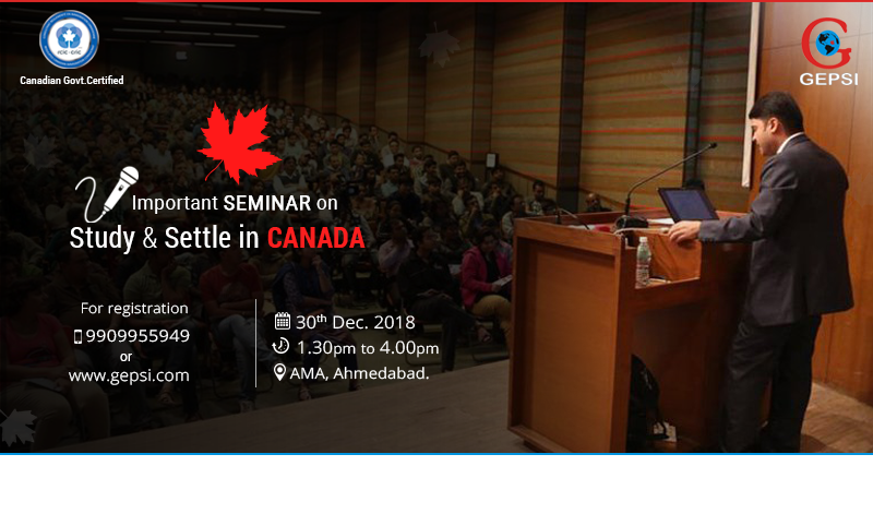 Extremely Important Seminar on Study & Settle in Canada