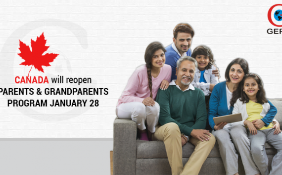 Canada will Reopen the Parents and Grandparents Sponsorship Program on January 28
