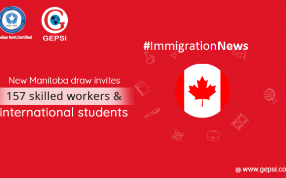 The New Manitoba Draw Invited 157 Skilled Workers and International Students