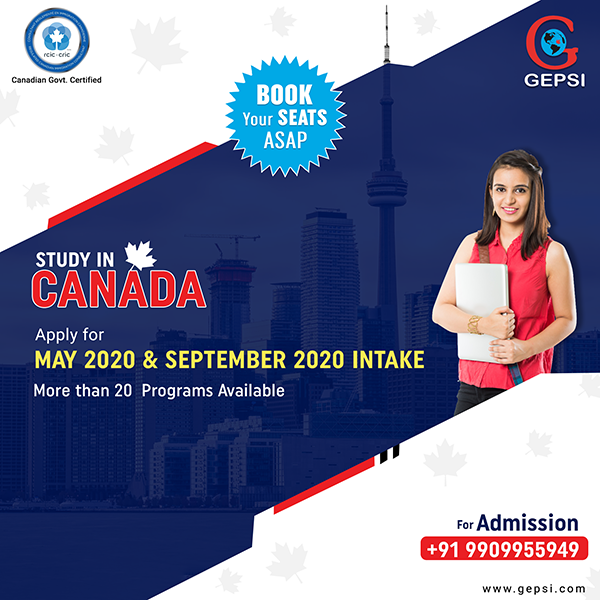Apply for May 2020 and September 2020 Intake