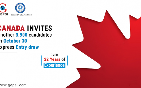 3900 Invitations Were Issued for Canadian PR in the October 30 Express Entry Draw