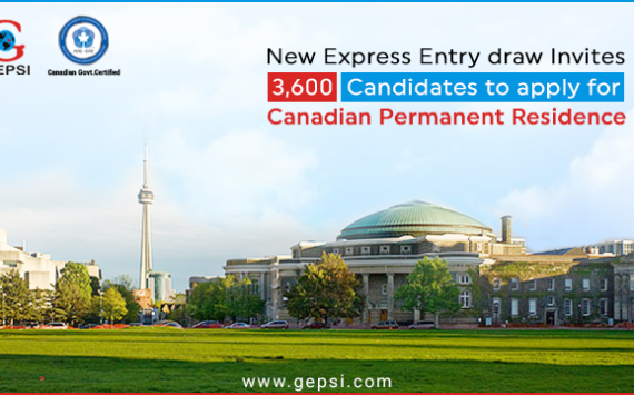 November 13 Express Entry Draw Invites 3,600 Candidates to Apply for Canadian Permanent Residence
