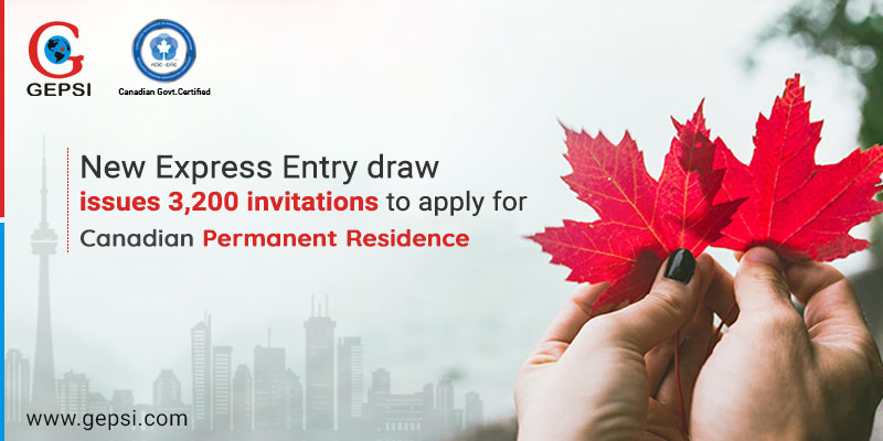 Express Entry Draw Issues 3,200 Invitations to Apply For Canada PR