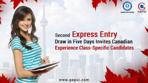 Second Express Entry Draw in Five Days Invites Canadian Experience Class-Specific Candidates