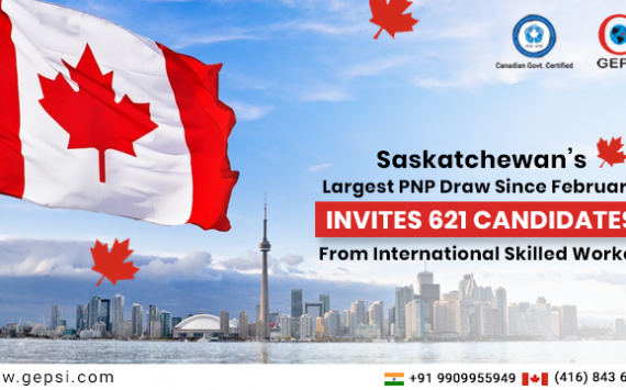 Saskatchewan's Largest PNP Draw Since February Invites 621 Candidates From International Skilled Worker Category