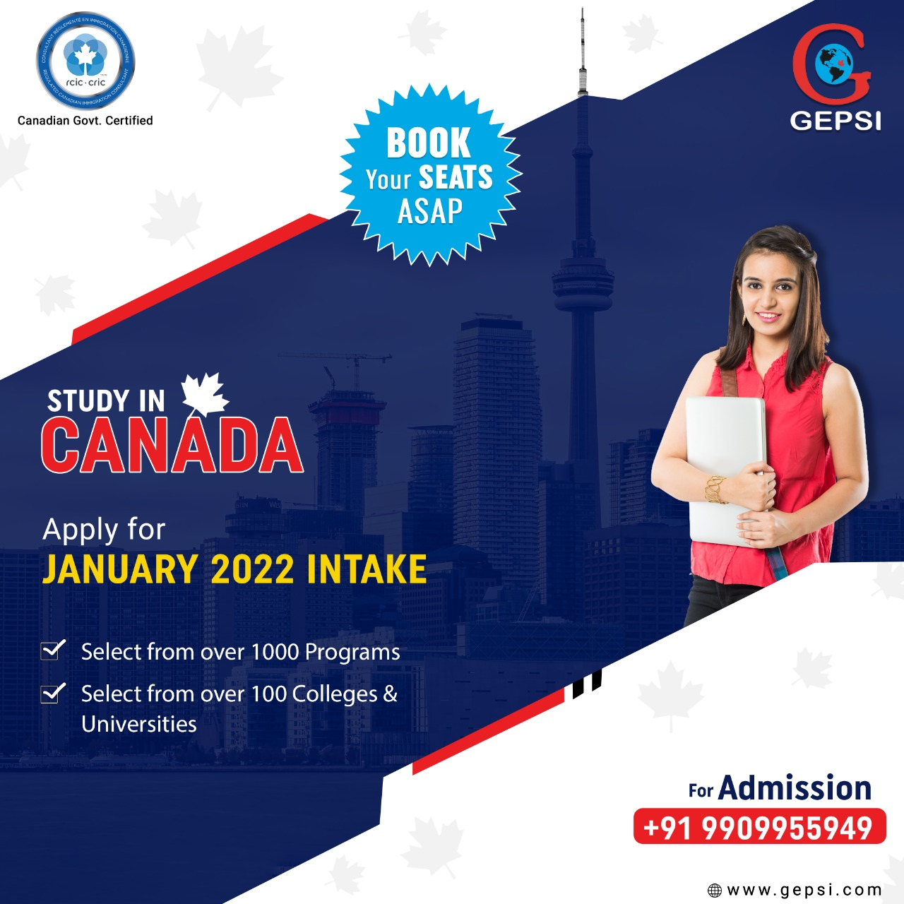 Apply for January 2022 Intake